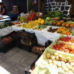 agrarian market in arrecife