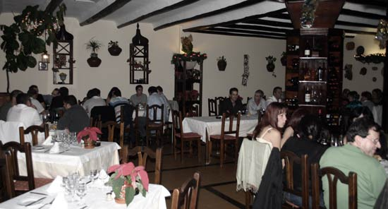 La Jordana Restaurant, Costa Teguise, Lanzarote, specializing in fish and meats