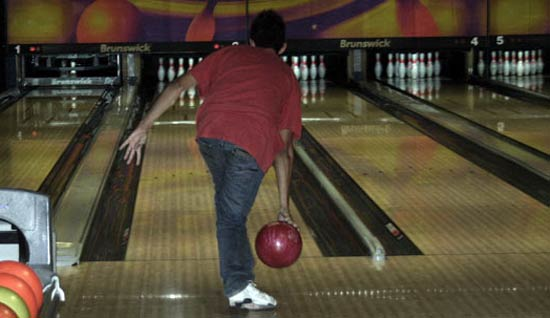 A Bowling game in Lanzarote