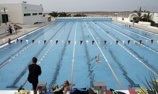 Olympic-size Swimming Pool of La Santa Club, La Santa, Lanzarote
