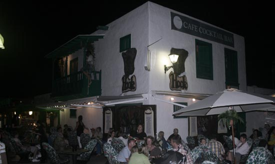 Pueblo marinero, nightlife in Costa Teguise, Lanzarote