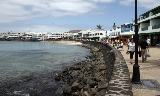 Seaside Promenade of Playa Blanca, Lanzarote