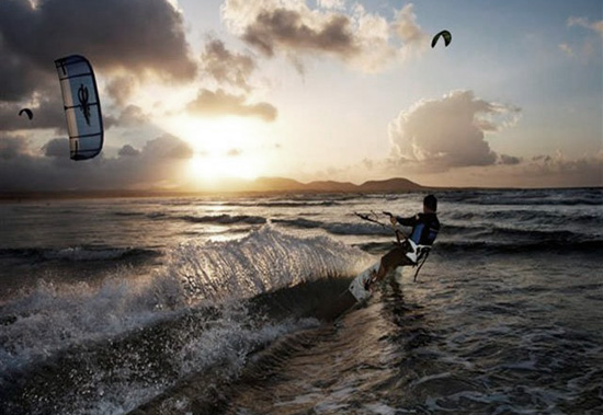 Spanish Kite Surfing Championship in Lanzarote