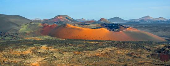 ruta sur Montañas del Fuego, Lanzarote