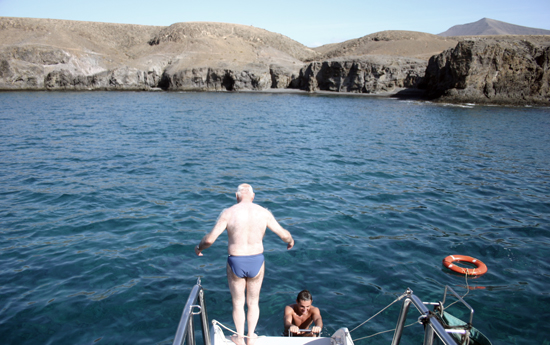 Excursión marítima Puerto Calero-Papagayo, Catlanza, Puerto Calero, Lanzarote