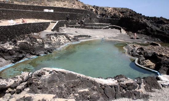 Natural Swimming Pools of Charco del Palo in Mala, Lanzarote