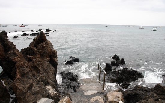Beaches and coves in Punta Mujeres, Lanzarote