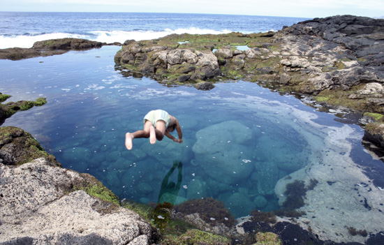 Bjumping into the naturaL pool