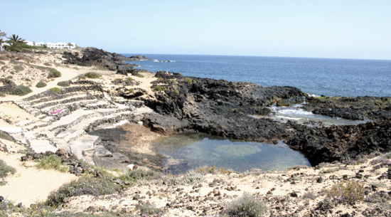 Views of Charco del Palo, Mala, Lanzarote