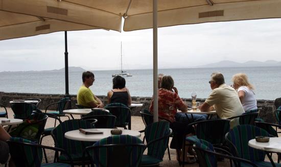 Isla de Lobos desde Playa Blanca, Lanzarote