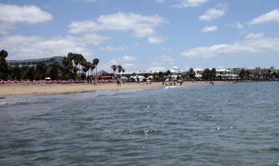 Playa de Matagorda, Puerto del Carmen, Lanzarote
