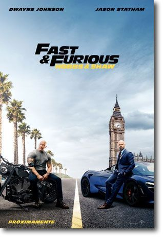 Fast & Furious: Hobbs and Shaw cines lanzarote