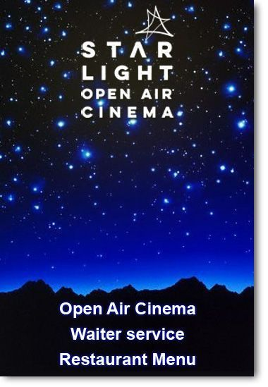 lanzarote open air cinema with english audio