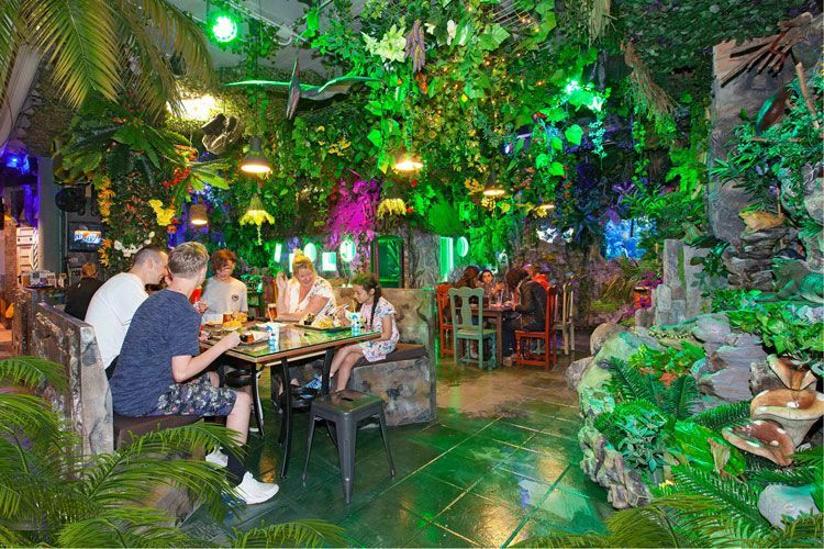restaurante lost world kids zone biosfera