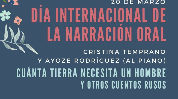 Cartel del Día Internacional de la narración oral
