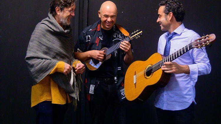 Alexis Lemes, Javier Infante y Javier Colina
