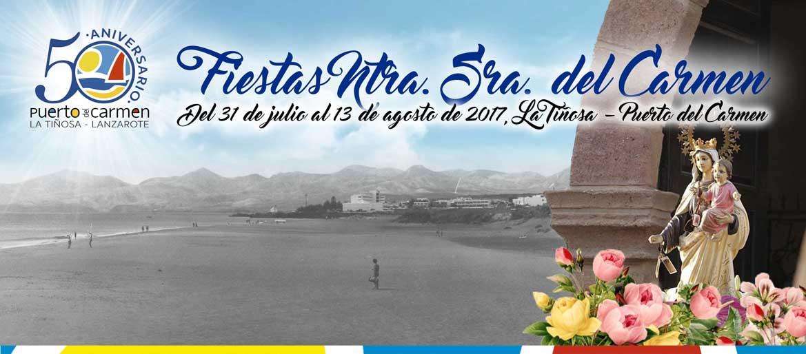 Fiestas de Nuestra Señora del Carmen 2017 Puerto del Carmen