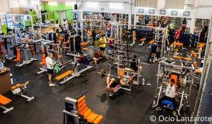 Sala de musculación de FuerteGym Lanzarote