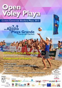 voley playa lanzarote 2015