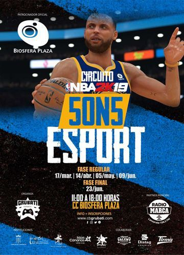torneo baloncesto 5 on 5 nba biosfera