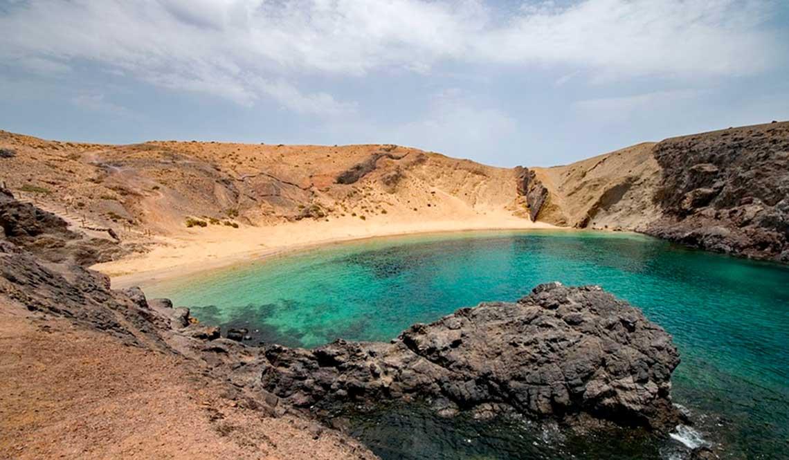 cala playa papagayo