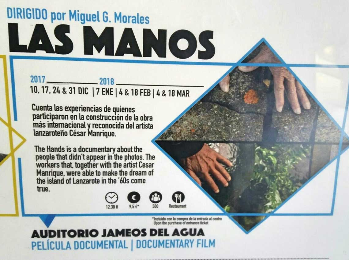cartel documental las manos