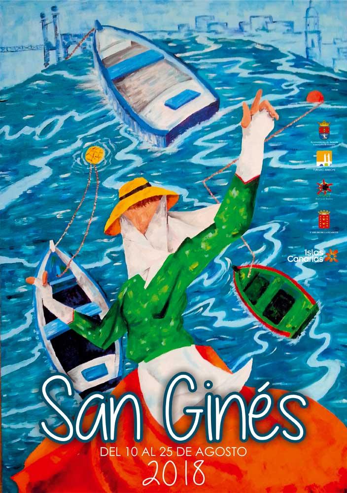 cartel fiestas de san gines 2018