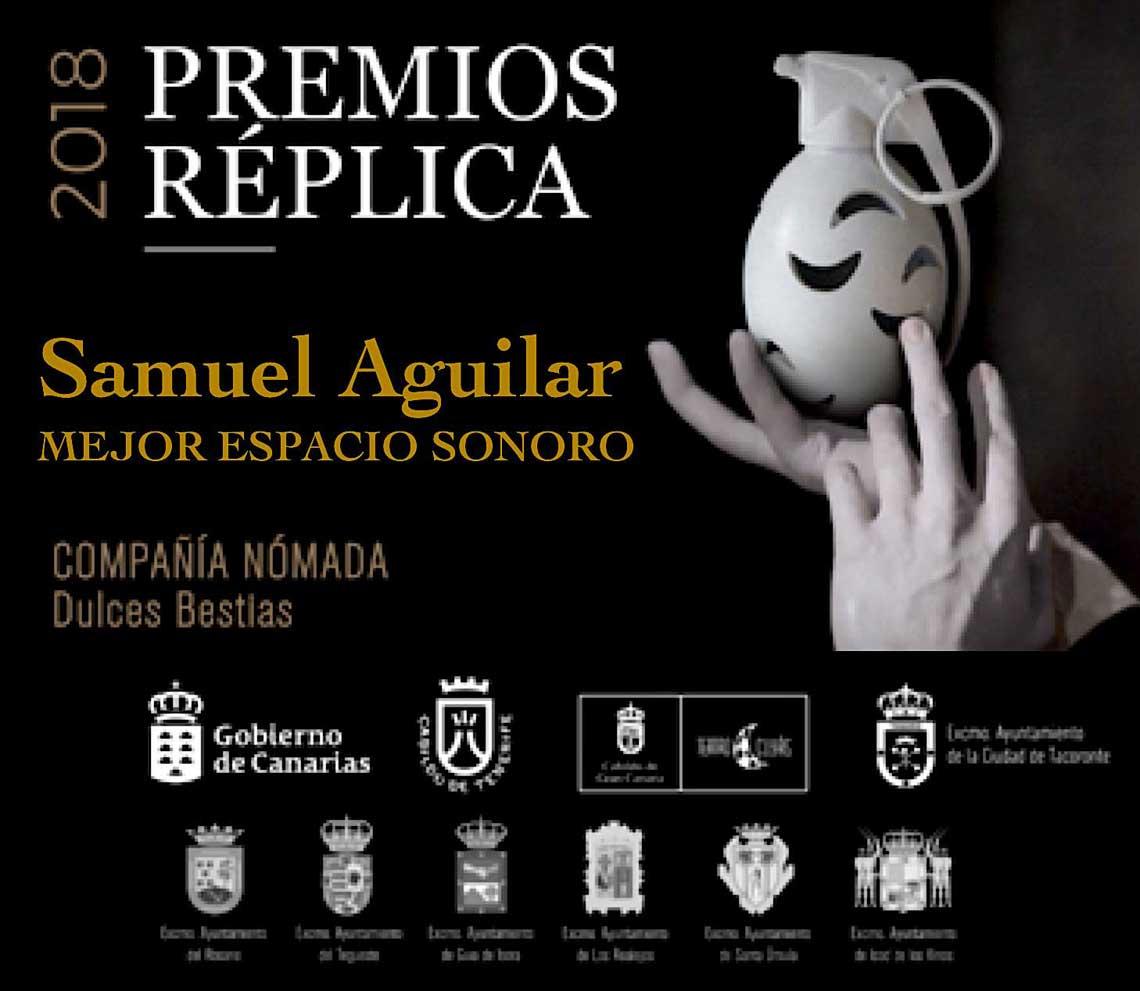 premio samuel aguilar replica 2018