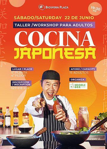 taller cocina japonesa biosfera
